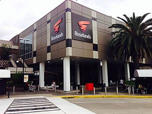 Roselands Shopping Centre - The principal front of the Roselands Shopping Centre building, that faces onto the street.