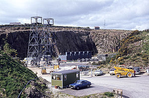 Geothermal power in the United Kingdom - Rosemanowes geothermal energy plant 1983