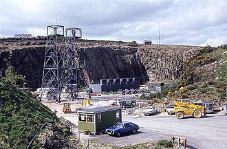 Geothermal power in the United Kingdom - Rosemanowes geothermal energy plant 1983