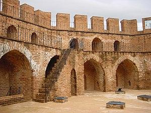Kızıl Kule - Interior view.