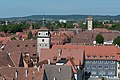 Rothenburg ob der Tauber, Kummereck, Kummereck, Weißer Turm, Galgentor, vom Rathausturm 20170526 001.jpg