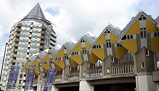 Rotterdam cubic houses Piet Blom.jpg
