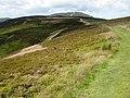 Route north, towards Moel Fammau - geograph.org.uk - 1410156.jpg