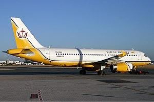 Royal Brunei Airlines - Royal Brunei Airlines Airbus A320 at Perth Airport (2004)