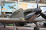 Royal Military Museum, Brussels - Hawker Hurricane II C (11448870426).jpg