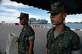 Royal Thai Marines stand guard as the dry cargo ship USNS Washington Chambers (T-AKE 11) arrives in support of Cooperation Afloat Readiness and Training (CARAT) 2013 in Chuk Samet, Thailand, June 3, 2013 130603-N-AX577-003.jpg