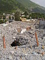 Rubble of a collapsed building at Balakot.jpg