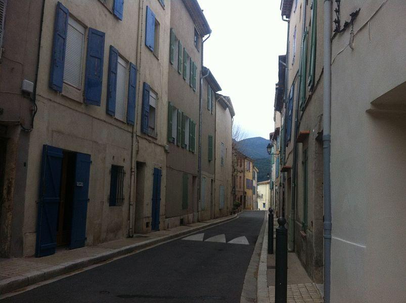Une ruelle dans Saint-Zacharie