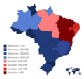 Runoff results by state of the Brazilian Presidential Election of 2018.png