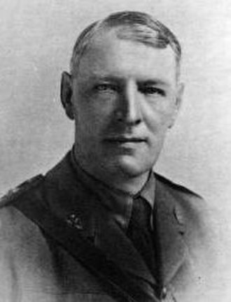 Rupert Inglis - Rupert Edward Inglis pictured as an army chaplain in the First World War