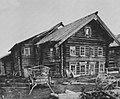 Russischer Photograph - Bauernhäuser im hohen Norden - ein Dorf unweit des Onega-Sees (3) (Zeno Fotografie).jpg