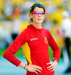 Ruth Beitia earned a  million dollar salary - leaving the net worth at 0.3 million in 2018