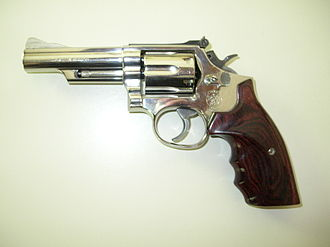 Smith & Wesson Model 19 - Image: S&W Model 19 5 .357 Magnum