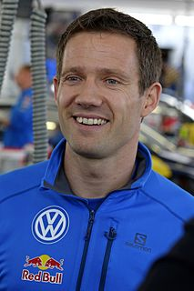 Sébastien Ogier French World Rally Championship driver