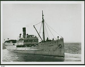 SS Karatta - The SS Karatta circa 1950.
