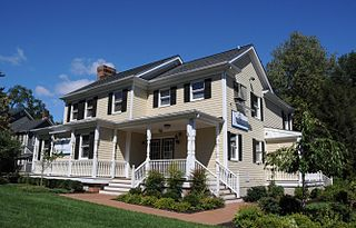 Saddle River Center Historic District United States historic place