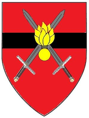 South African Army Engineer Formation - SANDF Engineer Formation emblem