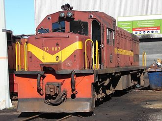 1965 in South Africa - Class 33-000 (GE U20C)