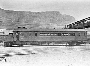 South African Clayton Railmotor - Image: SAR Railmotor no. RM11 (Clayton) a