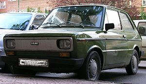 SEAT 133 - Image: SEAT133front