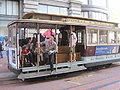SF cable car no. 5 on Powell St. 1.JPG