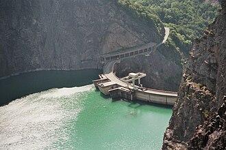 Avignonet - The Dam across the Drac