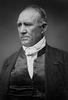 Photo portrait of Sam Houston as an old man