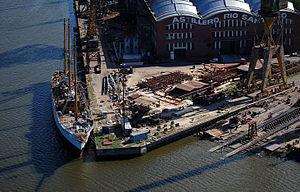 Río Santiago Shipyard - Aerial view of the shipyard, 2006