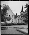 SOUTH SIDE, EDUCATION ANNEX AND CHURCH - Plains Baptist Church, Bond and Paschal Streets, Plains, Sumter County, GA HABS GA,131-PLAIN,14-5.tif