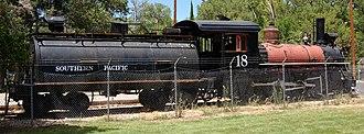 Carson and Colorado Railway - Image: SP No. 18