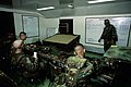 SSGT Meegan, United Nations Command Security Battalion-Joint Security Area (UNSCB-JSA), Scout Platoon, briefs his team before a patrol of the Demilitarized Zone (DMZ) on Oct. 20, 19 - DPLA - d69a50947f4d26a20a5c768c2b9f9917.jpeg