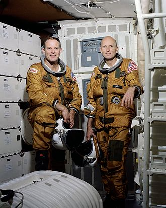 STS-3 - Image: STS 3 Crew