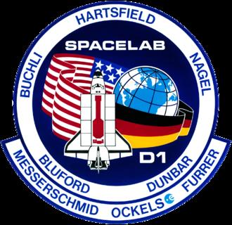 James Buchli - Image: STS 61 a patch