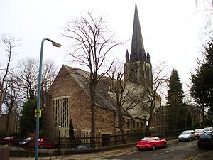 Church of St Mark, Broomhill, Sheffield - Image: ST Marks Church Sheffield UK 2009
