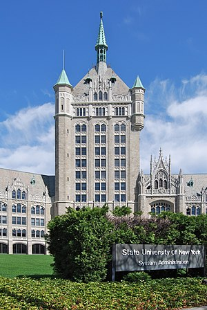 "State University of New York - SUNY System Administration Building ""The SUNY Castle"" in Albany"