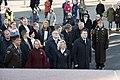 Saeimas priekšsēdētāja piedalās restaurētā Brīvības pieminekļa atklāšanā (37789630141).jpg