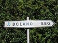 Saint-Cyr-au-Mont-d'Or - Panneau direction Bolano 580 km (août 2019).jpg