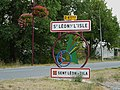 Saint-Léon-sur-l'Isle mairie panneau.JPG