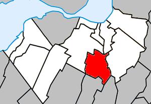 Saint-Mathieu, Quebec - Image: Saint Mathieu Quebec location diagram