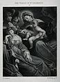 Saint Catherine. Line engraving after L. Carracci. Wellcome V0031824.jpg