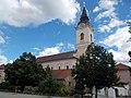 Saint Nicholas church (NW), Kossuth Squre, 2016 Hungary.jpg