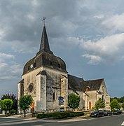 Saint Saturnin church of Poulaines 01.jpg