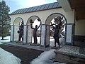 Salavat Yulayev museum sculptures.jpg