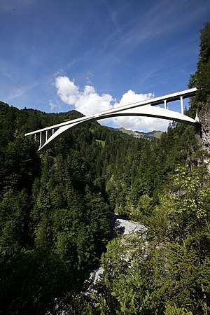 English: Salginatobel Bridge