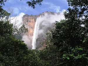 Salto Angel from Raton, Venezuela.