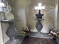 Sam Eyde 1866-1940 Elida Elly Simonsen 1883-1960 Mausoleum Gravsted interior Borre kirke (church) Horten (Norway) Kirkegård gravlund (cemetery) 2021-07-08 IMG 8128.jpg