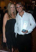 Samantha Ryan, Kurt Lockwood at 2005 AEE Awards 1.jpg