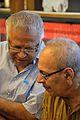 Samares Mazumdar with Sirshendu Mukhopadhyay - Kolkata 2015-10-10 4823.JPG