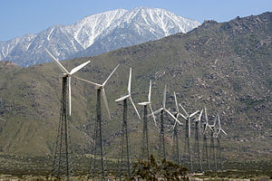 San Gorgonio Pass - A small segment of the San Gorgonio Pass wind farm