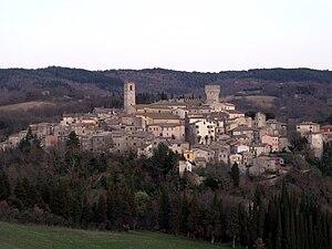 San Casciano dei Bagni - Image: San Casciano Dei Bagni Panorama